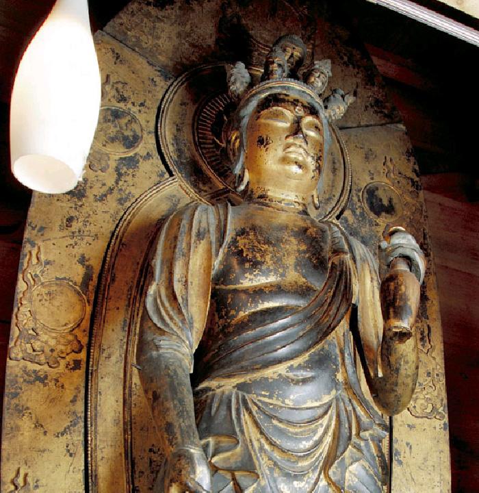弘安寺銅造十一面観音(会津美里町)